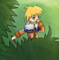 Naruto in the forest by InaVangen