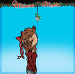 Coralie Mistletoe Meme by Ask-Coralie