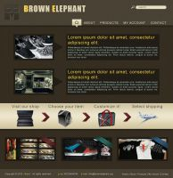 Brown Elephant Site by bisiobisio