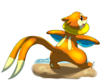 PC Buizel by jaclynonacloud