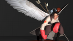 SFM - Winged Medic by OkamiArtist