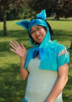 Glaceon Cosplay by tegwata