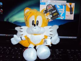 Tails Plush, 20th Anniversary by DazzyDrawing