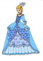 Disney Redesigns~Cinderella by Comicbookguy54321