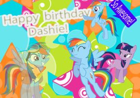 Happy birthday Dashie by Twilightsparkless