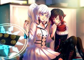White rose: All's Well That Ends Sweet by bakki