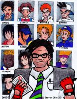 Rival School Battle Royale by Rocket-Stevo