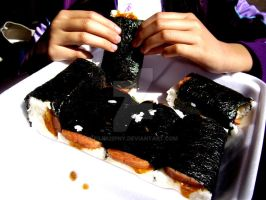 spam musubi. by filiru2pny