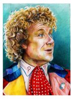 Colin Baker 6th Doctor by EatToast