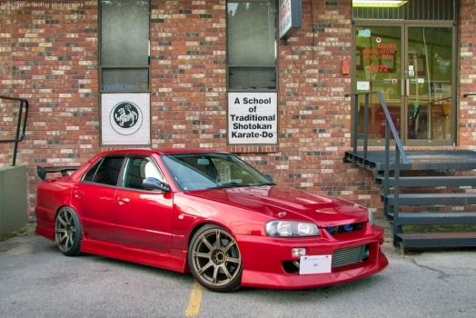 Volcano Red R34 by SeanTheCarSpotter