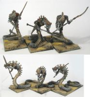 new tomb king Sepulchral Stalk by J00m4n