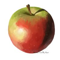 It's an Apple, Hoe by ItComesFromMyHeart