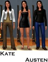 Kate Austen-Sims 3 by pudn
