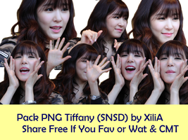 PNG Tiffany (SNSD) - Share Free by XiliaHwang