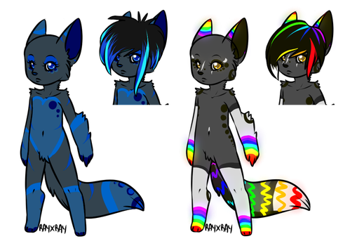 CLOSED Name Your Price Furries by Catty-Adopts