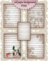 Old Paper Backgrounds 1 by roula33