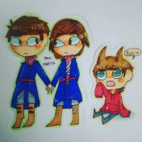 tord partyk and paul by Only091