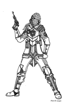 Lilithian Male Survivalist W.I.P. by Athalai-Haust