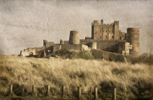 Bamburgh Castle 8 textured by newcastlemale
