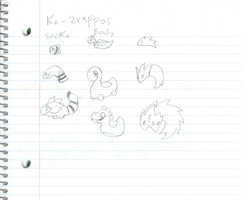 Kra Zrappos Creatures1 Scan Event by Dragonmaker990