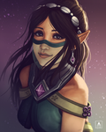 Ying by Aelini