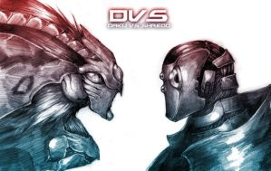 DVS- Daku VS SHREDD by silverlimit