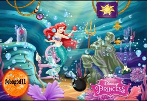 Ariel And Objects Of The Princesses by febogod11