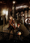 Steampunk Contest Winner - City of Lights by YukiMiyasawa