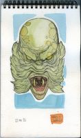 Sketch Monster 11 Creature from Black Lagoon by mdavidct