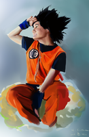 goku chichicken by DHaiku