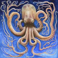 Pathological Cephalopod by maggock