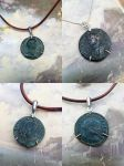 Ancient Roman Coin Necklaces by sixstringphonic