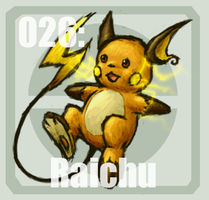 026 Raichu by Pokedex