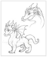 Dragons by VisionCrafter