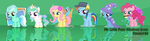 My Little Pony Icons by pikmin789