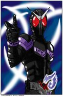 kamen rider joker by grimmhelm
