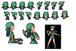 Custom Sprite One pokemon by DeterminedLeader-Red