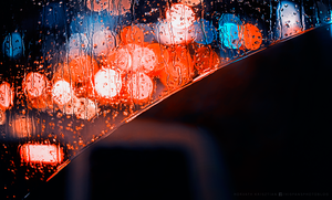 Rainy bokeh curve by hispanhun