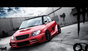Skoda Fabia WTCC by CptDesign
