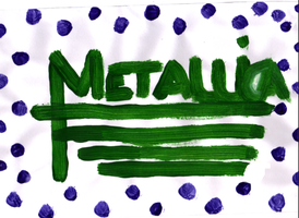 Metallica - Painting by jess13795