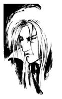 Sketch - Jareth by B3NN3TT
