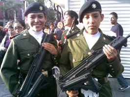 Militares mexicanas by AJcosmo
