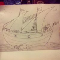 sketch the little mermaid2 by MysteriouSxDreameR