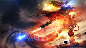 LoL Yasuo 2014 Wallpaper by AccidentalArtist6511