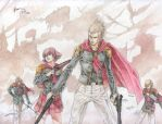 Final Fantasy Type 0: The Projectile Users by Nick-Ian