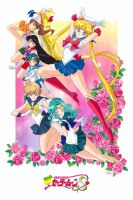 Sailor Moon S Promo Poster by CoronaBerenike