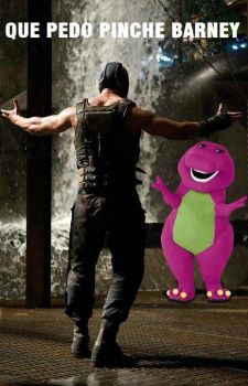 bane and barney by redcorporation