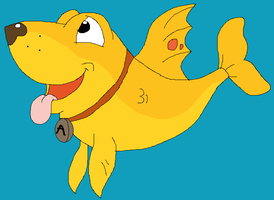 Albert the Dog-Fish by JustinandDennnis