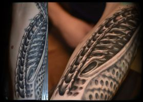biomech in progress by ABYSS-TAT-2S