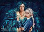 Howl and Sophie by DominiqueWesson